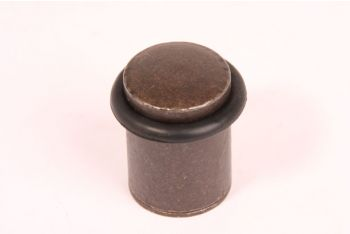 Deurstopper roest rond 28mm voor vloermontage