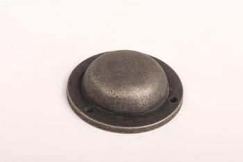 Afdekkapje/moerdop 42mm Zilver Antiek