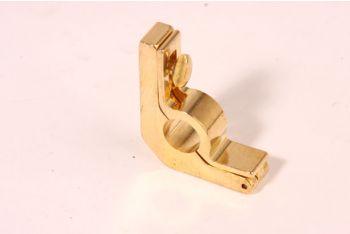 Trap roede houder 12mm messing polijst
