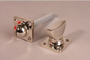 WC sluiting ton model blinkend nikkel of geborsteld nikkel