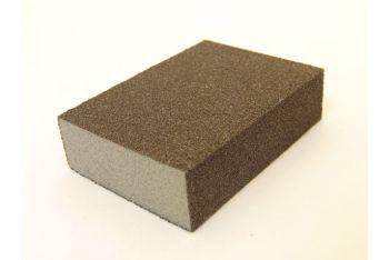 Schuurblokje per 10 stuks korrel 60 of 100 dik 26mm