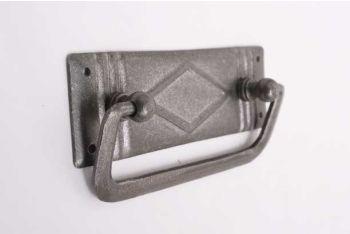 Ladegreep voor meubelen gemaakt van ijzer in een tinkleur 96 mm
