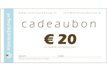 Cadeaubon EUR 50,-