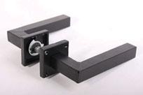 deurkruk industriële stijl zwart metaal